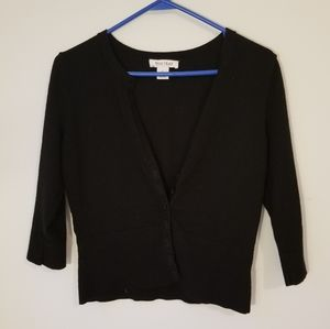Whits House Black Market 3/4 Sleeve Cardigan
